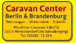 Caravan Center ist Sponsor der Auto Camping Caravan