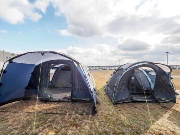 Auto Camping Caravan